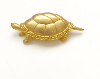 Vintage Givenchy Turtle Brooch