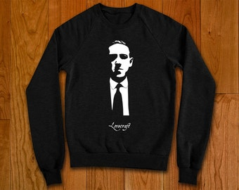 HP Lovecraft Sweater, horror author and creator of the Cthulhu Mythos