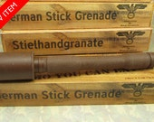 German Stick Grenade in Belgian Milk Chocolate