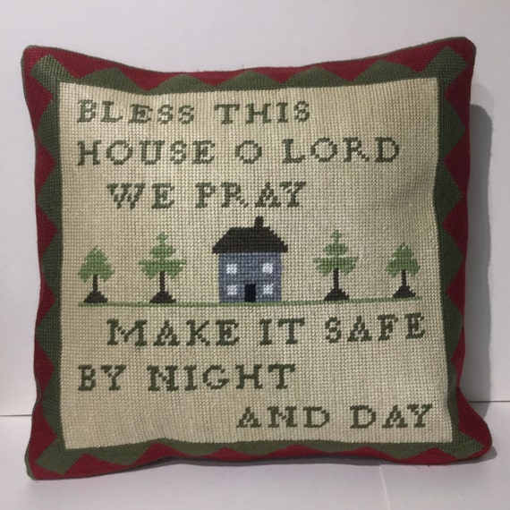 Made to order with your home embroidered on.