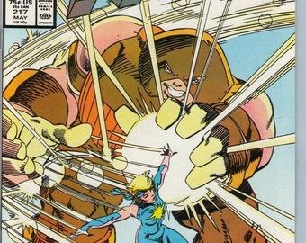 X-Men 217 May 1987 NM- (9.2)