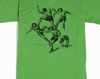 Circus Shirt - Men's Tshirt - Acrobat Tee - Moustache T-Shirt - Graphic tee