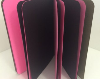 Velvet 24lb Paper Traveler's Notebook Insert- ALL Sizes, Including B6, B6 Slim, Personal, & A6! Choose Your Cover Color!