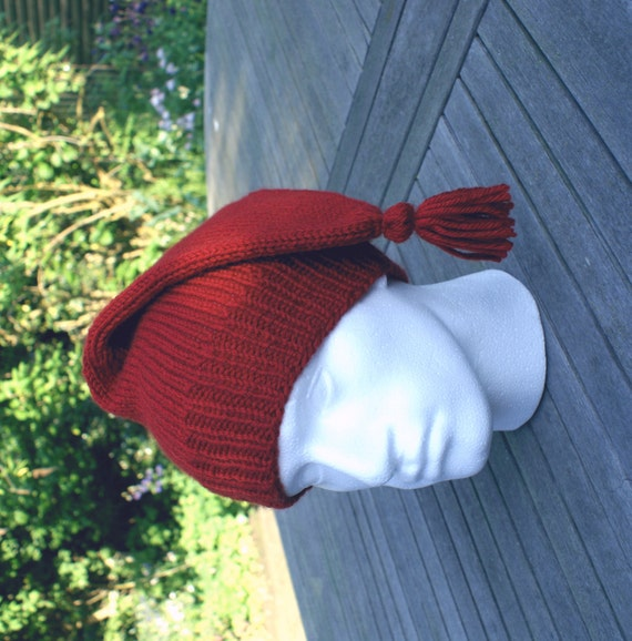 Canadian Inspired Home Decor Canada Pillow Via Etsy: Hand Knit Canadian Voyageur Style Hat Reenactment Hat