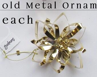 Shiny Metal Christmas Ornament - Gold - Metal Christmas Ornament - Metalwork