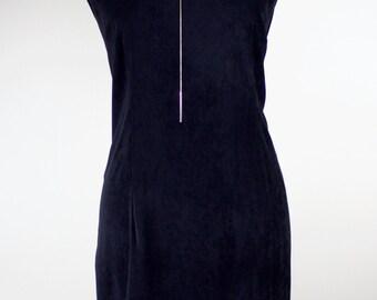 Black Vintage Mod Dress