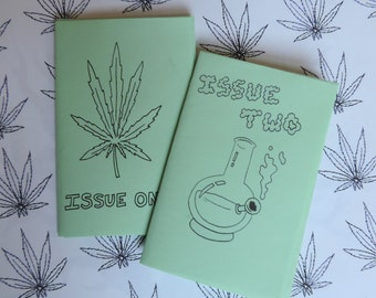 Stonerquotes mini zines || issue one or two