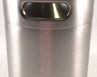 2 L Stainless Mini Keg Growler Canteen Craft Brewing Brew Beer Water 64 oz Stone Tap Beer To Go Bar Camping Man Cave Home Brew