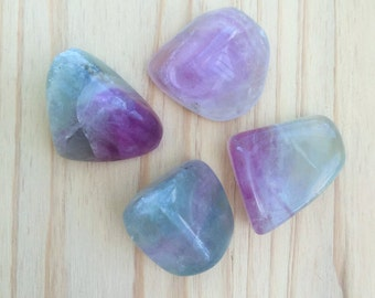 Rainbow Fluorite Healing Crystals Perfect for Chakras, Crystal Grids, Meditation