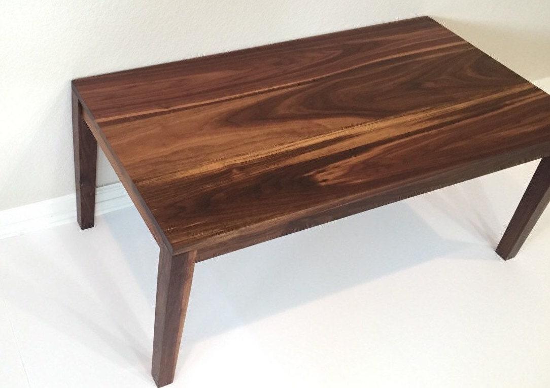 Modern Walnut Coffee Table Modern Coffee Table Tapered Leg