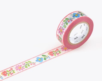 mt ex embroidery | mt washi masking tape  embroidery 15mm×10m