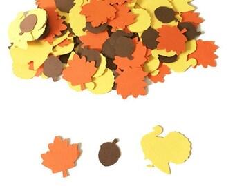 Thanksgiving Party Decor - Thanksgiving Decor - Thanksgiving Decorations - Thanksgiving Party Confetti - Fall Decorations - Fall Party Decor