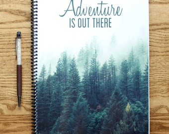 Adventure Is Out There Notebook