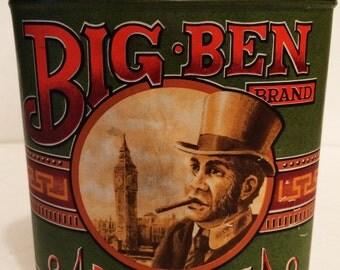 Big Ben Cigar Tin Panatellas