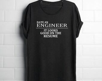 Funny Engineer T-Shirt, Engineering T-shirts, Engineering Gifts, Gifts for Engineers, Funny Engineering Gifts, Birthday Gifts for Engineers