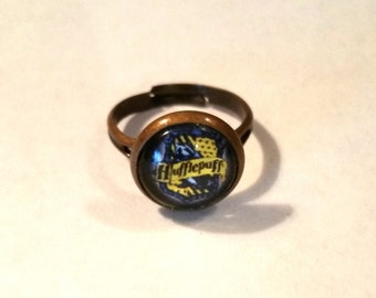 Harry Potter Inspired Hufflepuff Ring