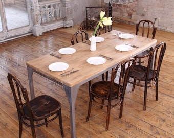 Industrial Style Contemporary Dining Table