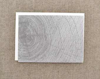 Wood Print Note Cards - Set of 6 Flat Note Cards - Wood Notecard - Wood Stationary - Nature Stationary - Nature Note Cards - Nature Notecard
