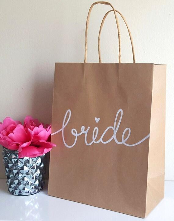 Bride Or Groom Bachelorette Bachelor Party Kraft Gift Bags