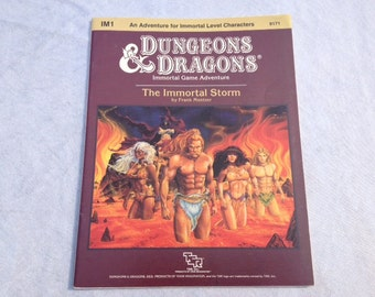 Dungeons & Dragons The Immortal Storm