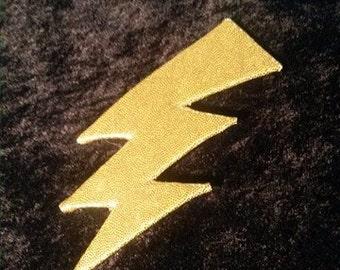 Transylvanian Lightning Bolt Pin