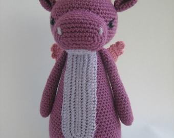 Crochet Amigurumi Pattern - Dragon