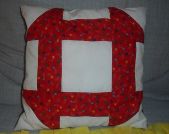 Stars and Red Stripes Pillow