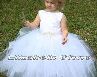 NEW Olivia Flower Girl Tutu Dress