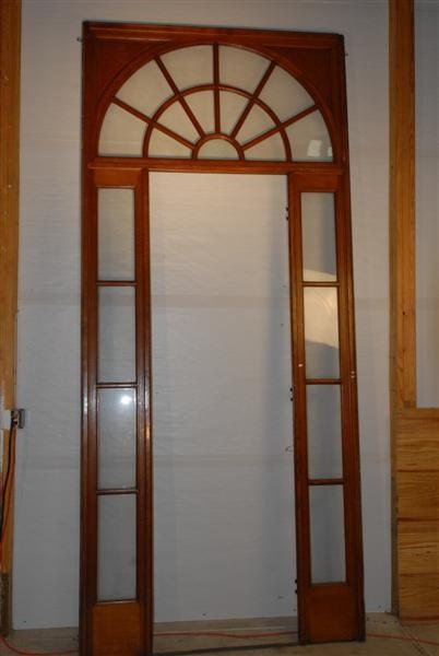 Interior french door surround sidelights and transom - Interior french doors with sidelights ...