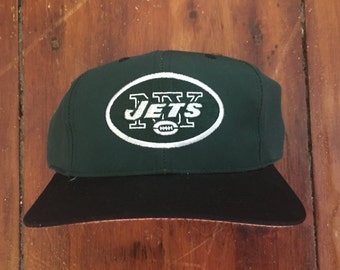 Vintage New York Jets NFL Snapback Hat Baseball Cap