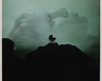 ROSEMARY'S BABY Movie Poster Horror Satanic Occult Mia Farrow