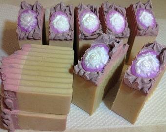 Lilac Goats Milk Soap