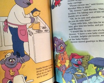Vintage Book On My Way with Sesame Street My Family
