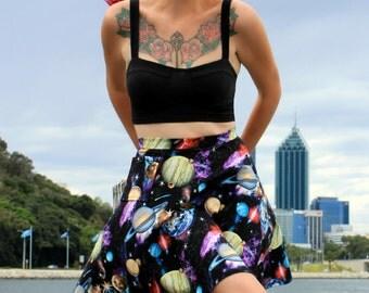 Galaxy Print Skirt | Custom Made