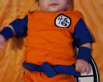 Baby Goku Onesie