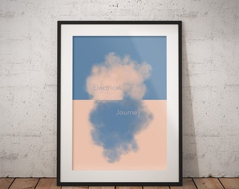 Electrical Journey print