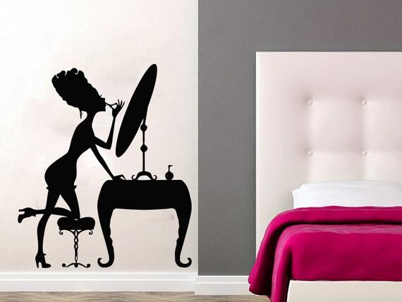 Wall Decal Beauty Salon Vinyl Sticker Decals Home Decor Make