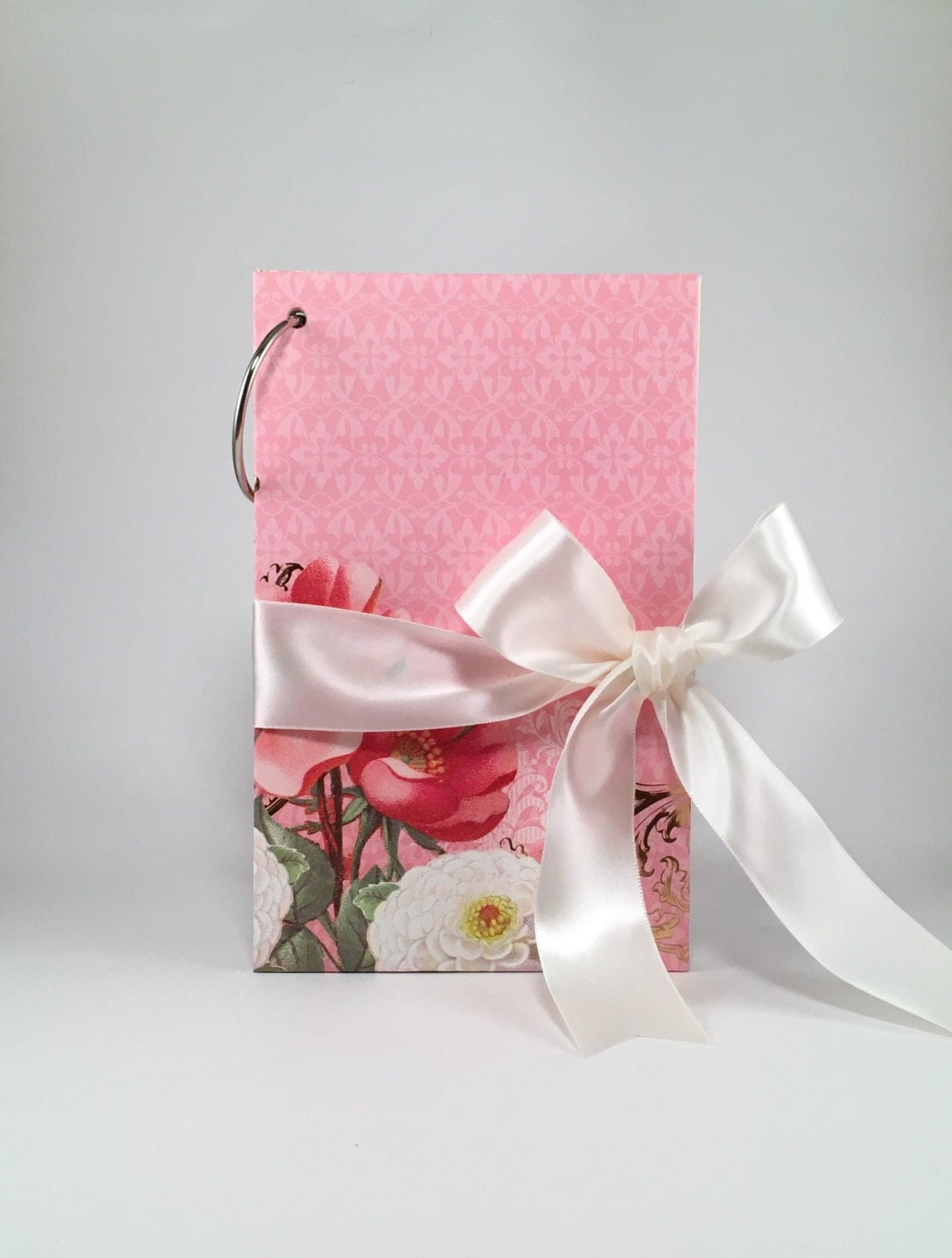 Greeting card album holder scrapbook keepsake wedding