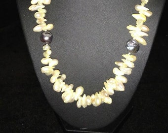 Freshwater Pearl Necklace  18in