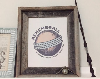 Harry Potter Remembrall Print