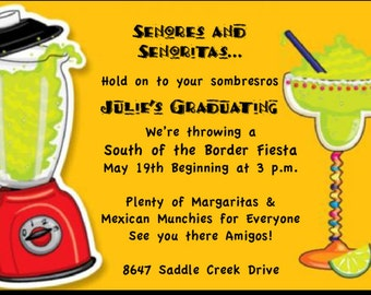 Fiesta Graduation Invitation