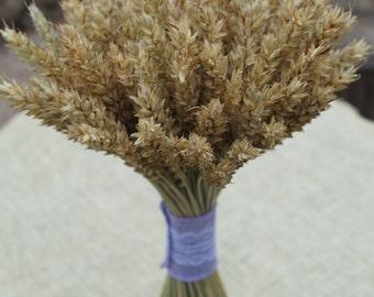 natural wheat dried flowers bouquet farmhouse wedding bouquet rye straws grain ear bouquet rustic home decor