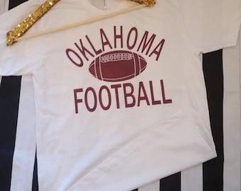 Oklahoma Football Tshirt