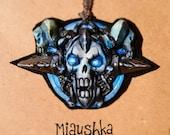 Death Knight class crest pendant [World of Warcraft]