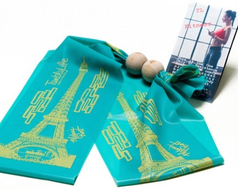 Total-Body Workout With Body-Band in Eiffel Tower print