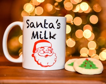 SANTA'S MILK Coffee Mug