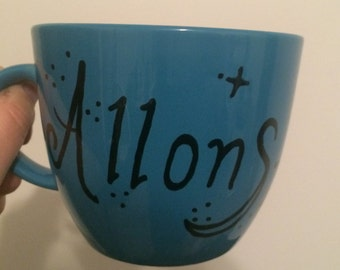 "16 Oz. ""Allons-y"" Dr. Who Inspired Mug"