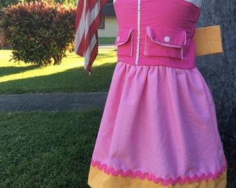Paw Patrol Inspired Skye Dress/Costume- Skye Costume- Skye Dress- Paw Patrol Dress- Paw Patrol Costume- Paw Patrol Birthday
