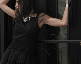 Black Goth Dress