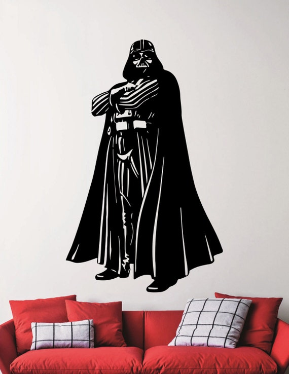 darth vader wall decal star wars stickers super hero vinyl wall stickers darth vader images